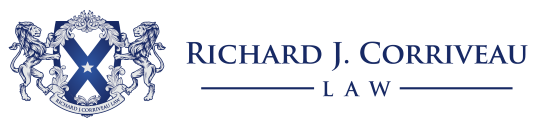 Richard J. Corriveau Law Logo